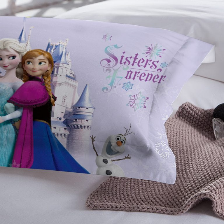 Disney Frozen Bedding Set kids Duvet Cover pillowcase Twin Full Queen King Size 3PCS 4 / Shop Social Online Store