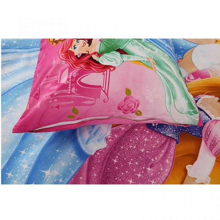 Disney Rapunzel Cinderella Princess Kids Girls Bedding Set Duvet Cover Bed Sheet Pillow Cases Twin Single 3 / Shop Social Online Store