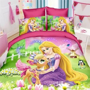 Disney Princess Kids Bedroom Duvet Cover Set