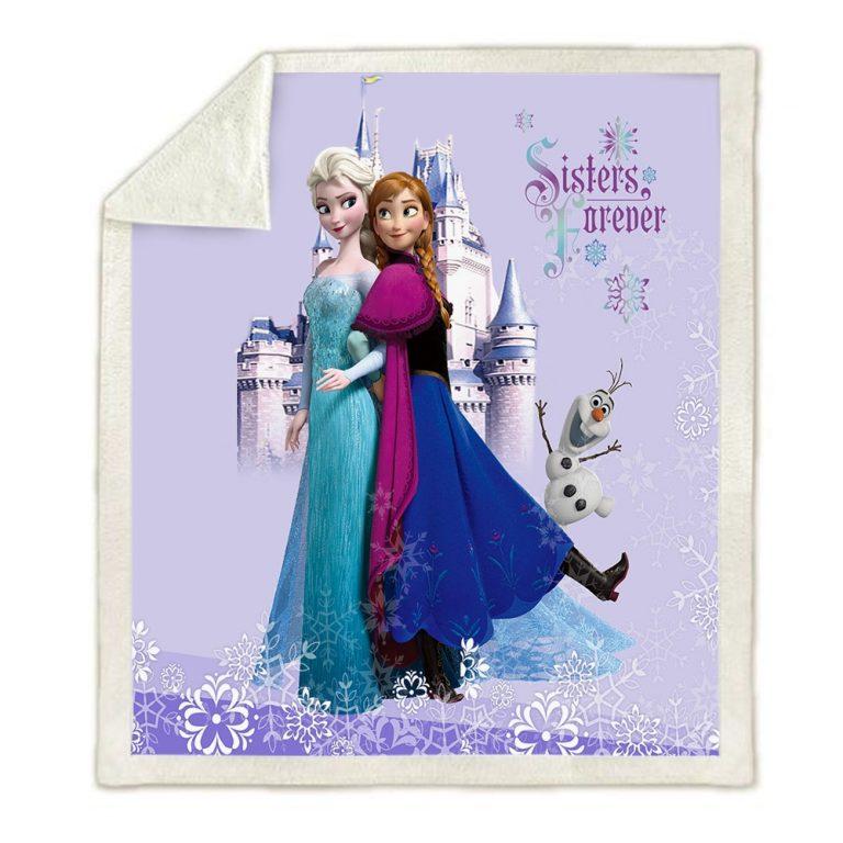 Frozen Blanket Disney bedspread Bedding for kids gift 2020 1 / Shop Social Online Store