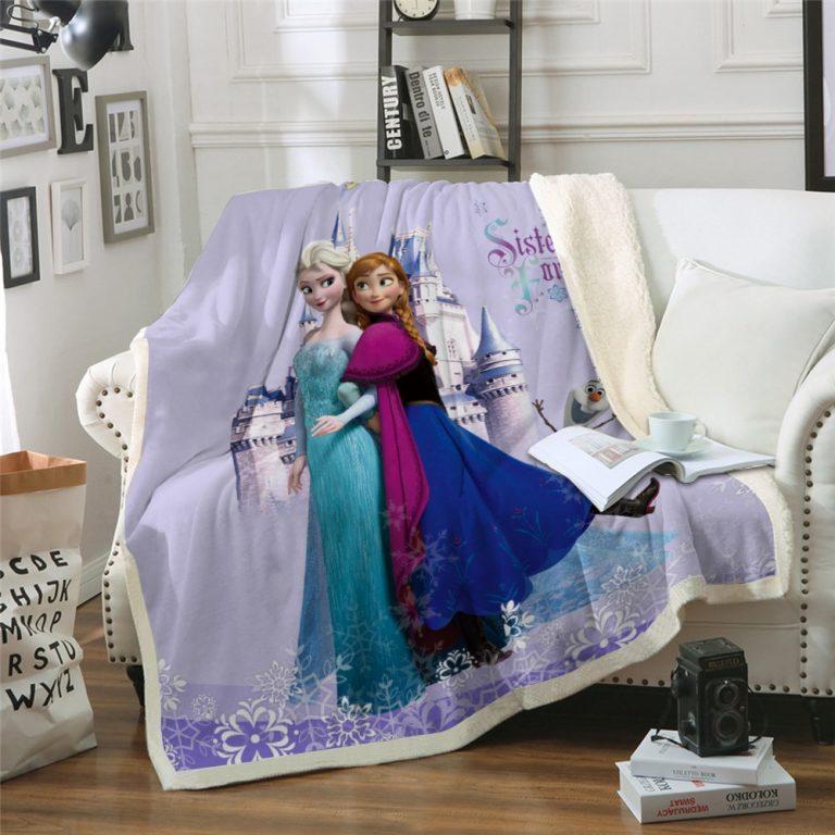 Frozen Blanket Disney bedspread Bedding for kids gift 2020 / Shop Social Online Store