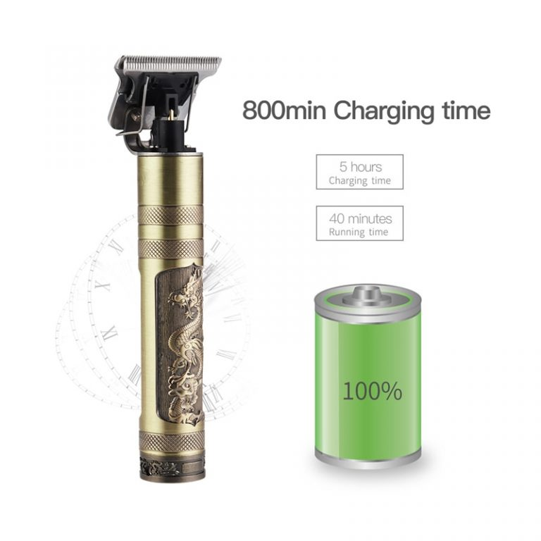 USB Rechargeable T9 Baldheaded Hair Clipper Electric hair trimmer Cordless Shaver Trimmer 0mm Men Barber Hair 4 / Shop Social Online Store