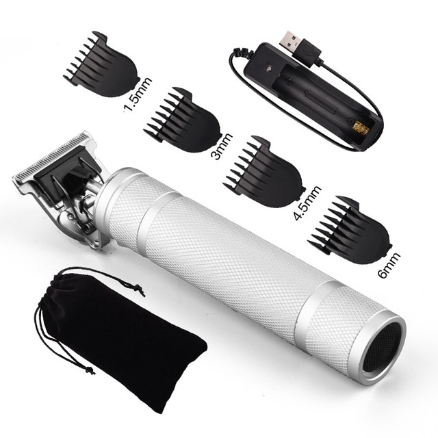 USB Rechargeable T9 Baldheaded Hair Clipper Electric hair trimmer Cordless Shaver Trimmer 0mm Men Barber Hair 5.jpg 640x640 5 / Shop Social Online Store