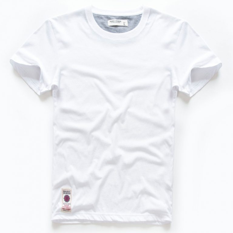 VOMINT hot sale New short sleeve men solid t shirt o neck soft solid cotton elastic 3 / Shop Social Online Store