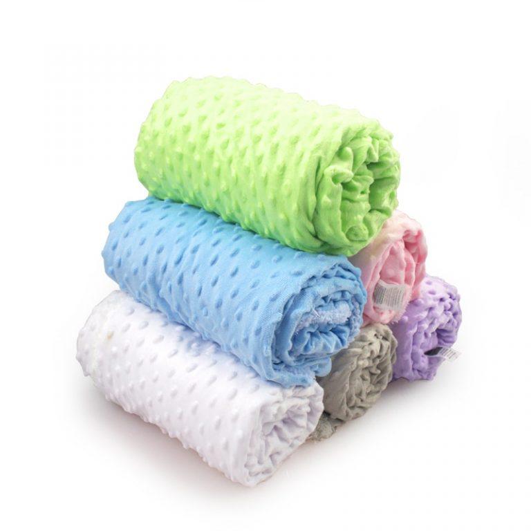 Baby Blanket Swaddling Newborn Thermal Soft Fleece Blanket Winter Solid Bedding Set Cotton Quilt Infant Bedding 1 / Shop Social Online Store