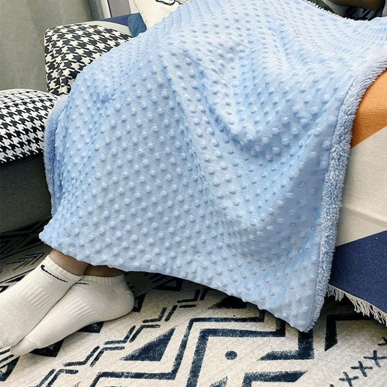 Baby Blanket Swaddling Newborn Thermal Soft Fleece Blanket Winter Solid Bedding Set Cotton Quilt Infant Bedding 3 / Shop Social Online Store