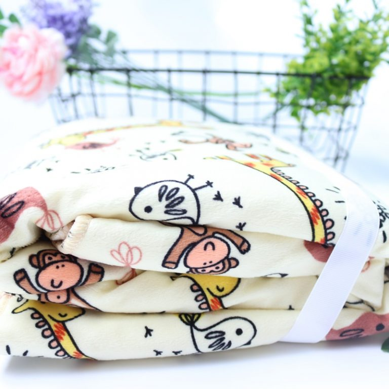 Baby Blankets New Thicken Double Layer Coral Fleece Infant Swaddle Bebe Envelope Wrap Owl Printed Newborn 5 / Shop Social Online Store