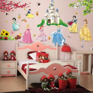 Disney Princess Wall Stickers For Kids Room